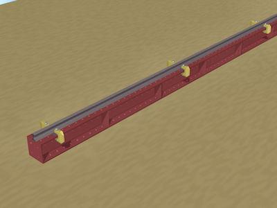 のレールの固定方法4