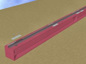のレールの固定方法5