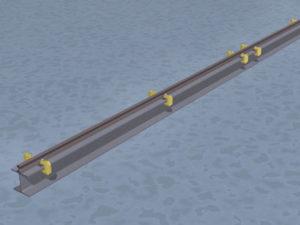 のレールの固定方法6