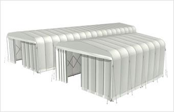 新型伸縮式仮設テント アルジャバラ画像その2